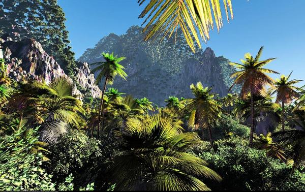 Tropisk klima   COLOURBOX6503640