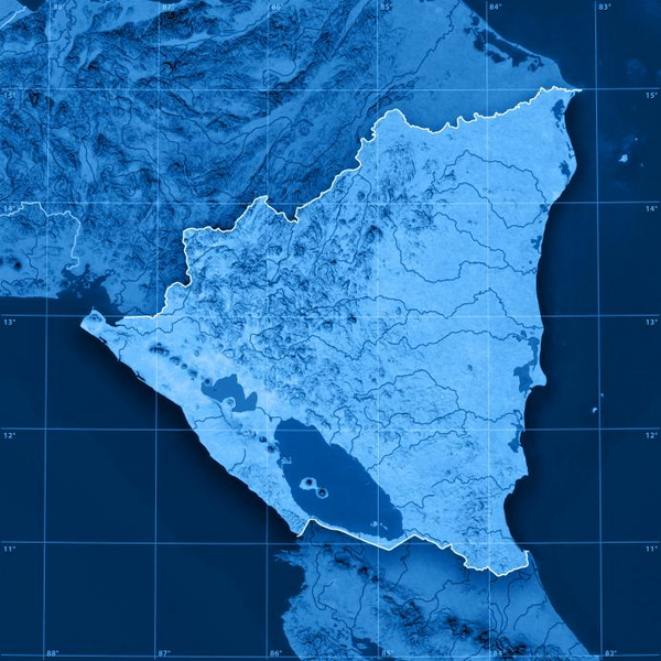 Frank Ramspott Istock 2010   nicaragua topographic map