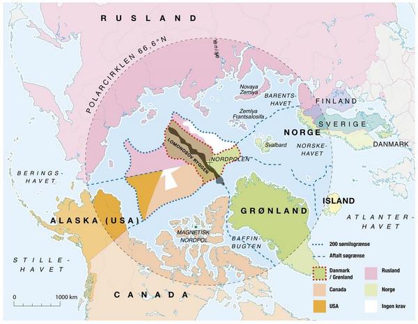Territorielle krav i Arktis   Mollers dk  2017