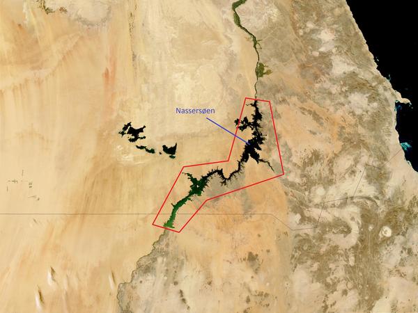 NASA   Jacques Descloitres  MODIS Land Rapid Response Team  NASAGSFC  Egypt A2003026 1110 250m