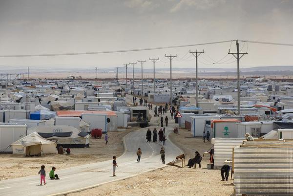 Flygtningelejr i Jordan   Redux   2014   Scanpix   mindsket