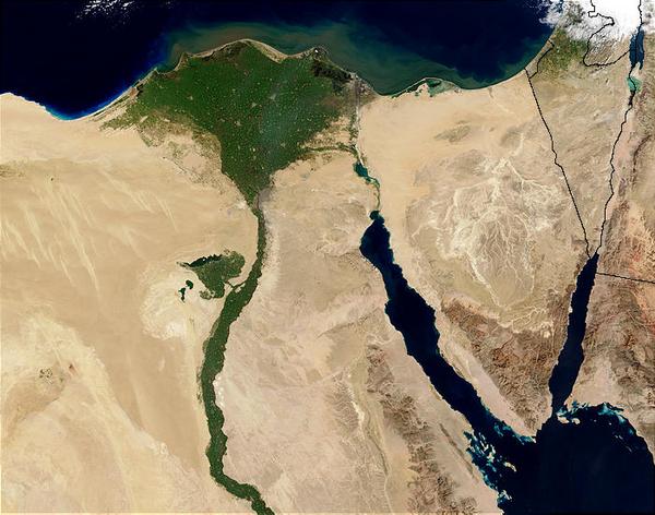 Nildeltaet   Nasa   Wikimedia Commons