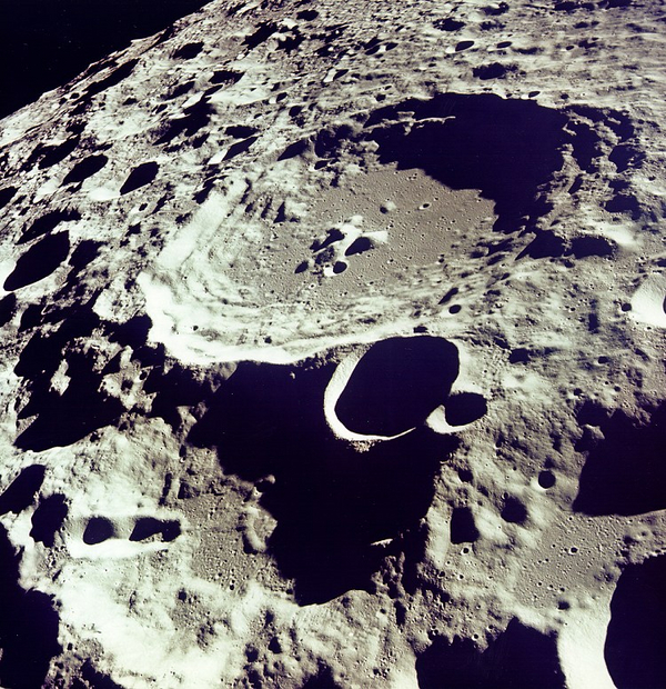 Kratere Foto NASA