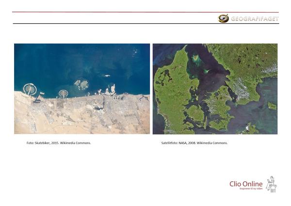 Danmark og Dubai