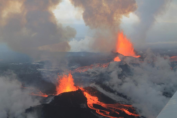 Vulkaner - undervisningsmateriale til geografi