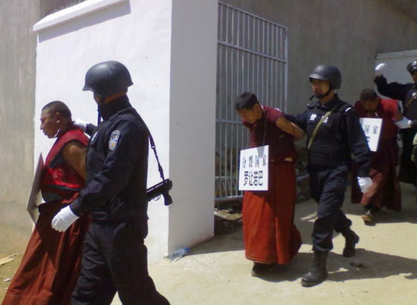 2008 China s Tyranny Violence Against Tibetan Monks after March Uprising