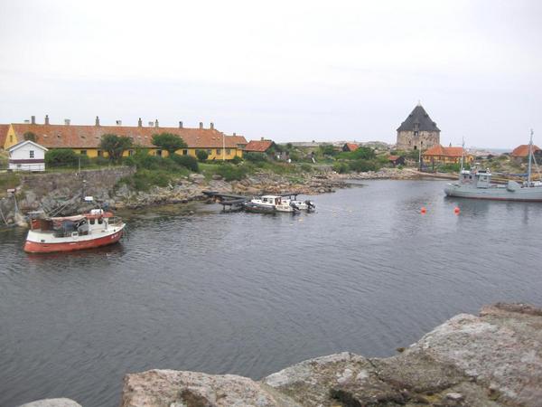 Bornholm   Frederiksoe   vue