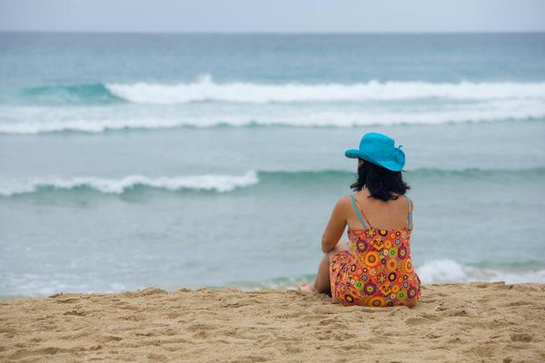Sommervind paa stranden   COLOURBOX8521437