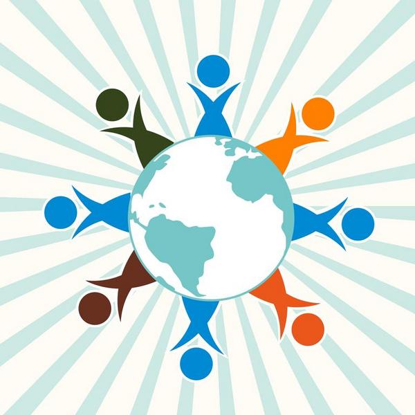 Verdens befolkning   COLOURBOX2361101
