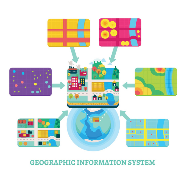 GIS og informationer   COLOURBOX20516107   mindsket