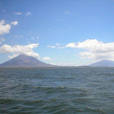 Lago de Nicaragua og Ometepe