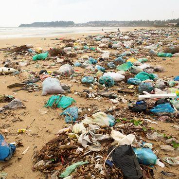 Affald i havet