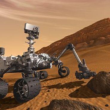 Curiosity på Mars