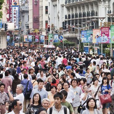 Kinas befolkningsstruktur