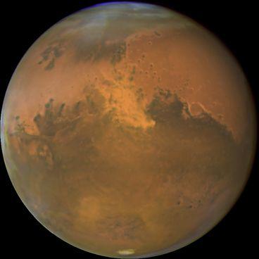 Mars – den røde planet