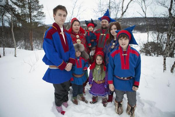 Samiskfamilie TonKoene2013 Scanpix